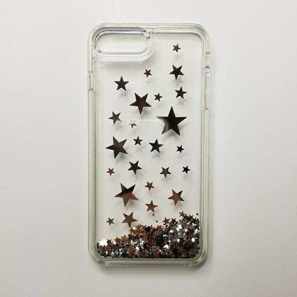 competitive price 6d5d4 26143 kate spade Accessories   Iphone 78 Silver Glitter Case   Poshmark
